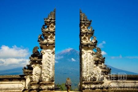 印度尼西亚巴厘的门