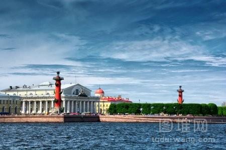 俄罗斯圣彼得堡城市风光