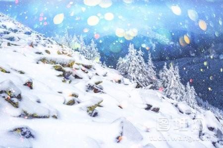 梦幻般的冬季风景