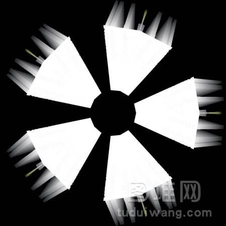 摘要万花筒背景可用于设计蜡染壁纸面料礼品
