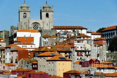 波尔图的城市风光葡萄牙