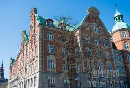 丹麦哥本哈根城市风光与美丽建筑