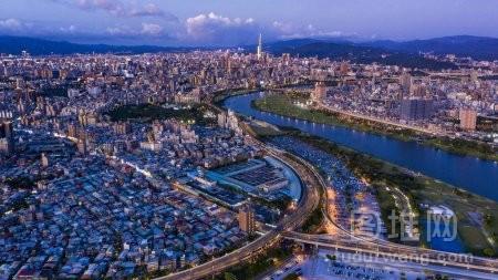 台湾台北夜景