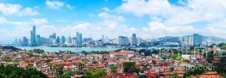 厦门美丽的海岸线中国